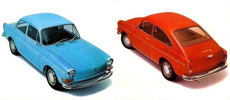 vw cars models 1970