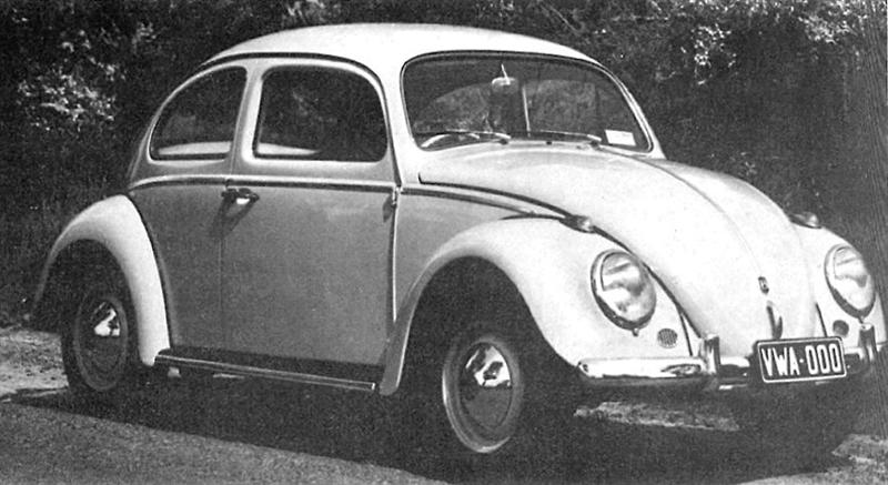 1961 Volkswagen Beetle Bug Even Covered In Snow It/'s Obviously 8.5 x 11/""