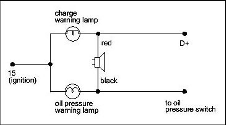 Oil Light Wiring Diagram Wiring Diagrams My