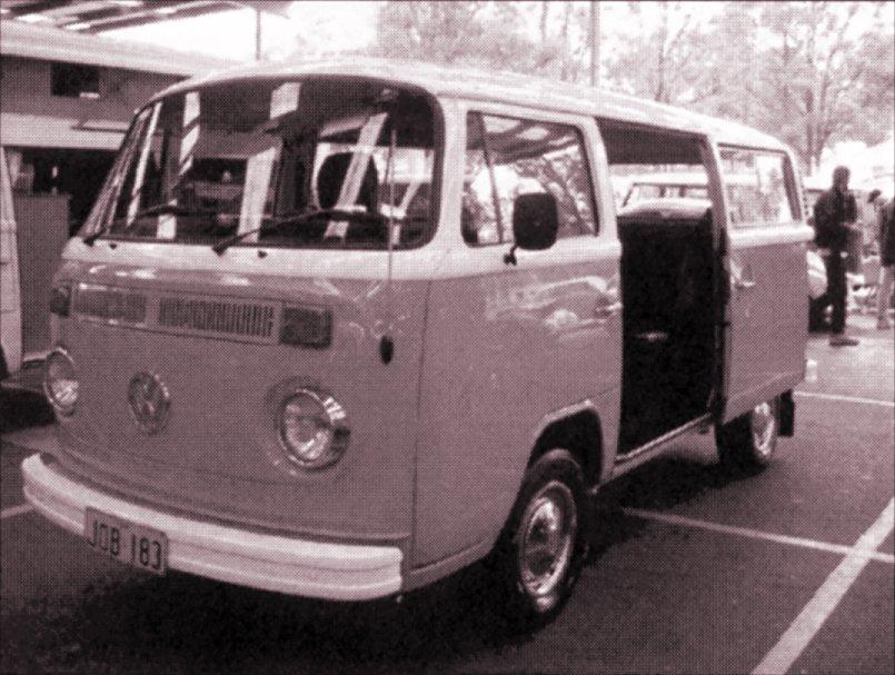 Classic VW Bay Window Campervan Exhaust Muffler Tailpipe 1600cc T2 Bus 1977-79